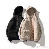 冬季外套男韓版潮流短款棉服面包服學生冬裝棉襖男士加絨加厚棉衣 LOLITA