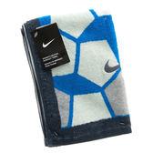 Nike Graphic Towel [9336028105] 圖案 運動 健身 毛巾 吸水 吸汗 舒適 快乾 白藍 中