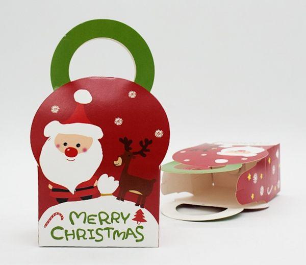 聖誕系列 餅乾糖果包裝盒 5入一包售 想購了超級小物級小物
