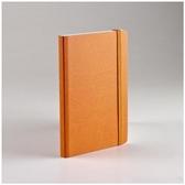 EcoQua taccuino 空白筆記本/A6(80張10.5cmx14.8cm)橘色【FABRIANO】