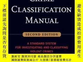 二手書博民逛書店Crime罕見Classification ManualY256260 John Douglas Jossey