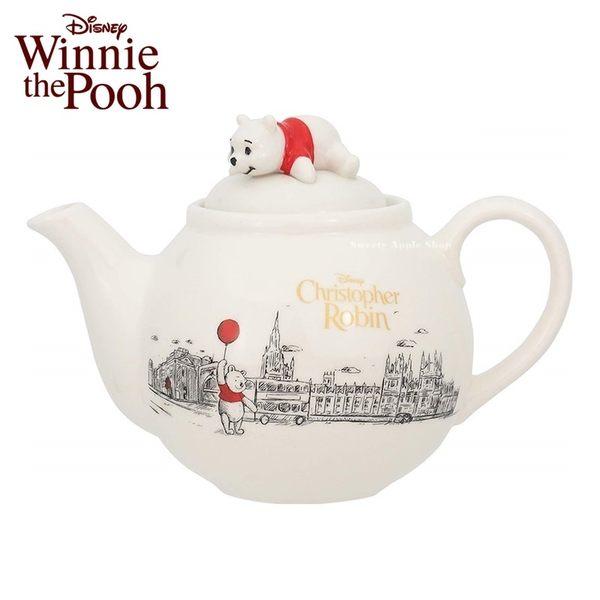 日本限定 迪士尼 小熊維尼 紅氣球系列 茶壺