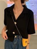 襯衫女夏新款韓版寬鬆v領復古襯衣