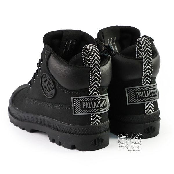 Palladium PAMPA SC OUTSIDER 防水童靴 黑色 側拉鍊 中童鞋 NO.R4825