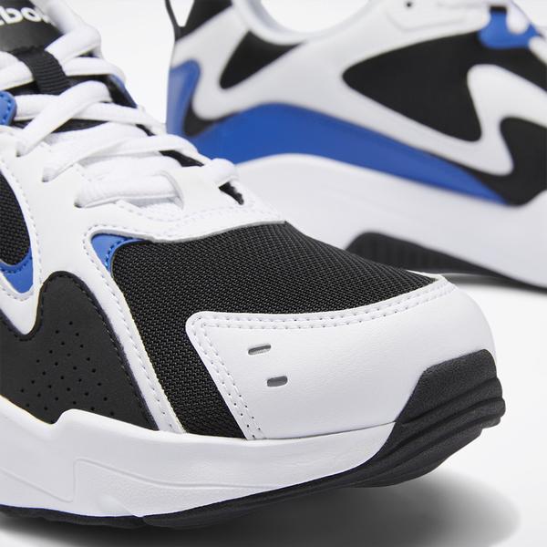 REEBOK ROYAL TURBO IMPULS 男鞋 女鞋 休閒 復古 黑 白 藍【運動世界】EH3464