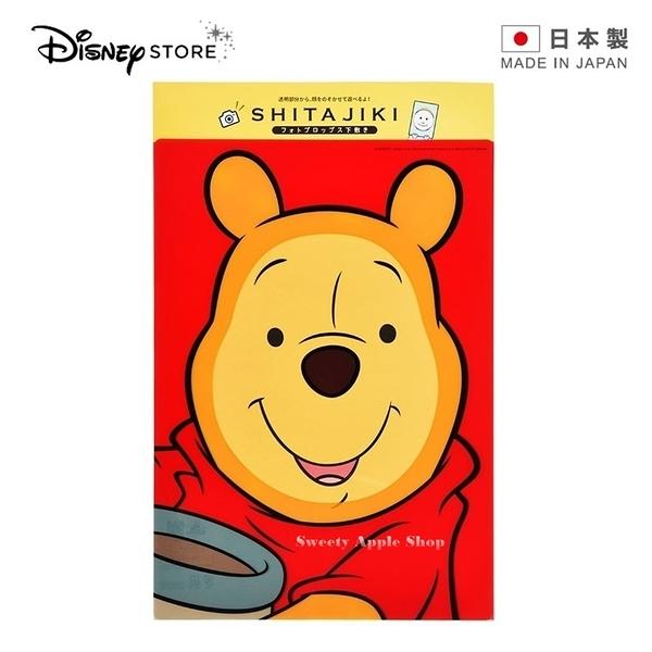 ★ 日本製 ★ 日本 DISNEY STORE 迪士尼商店限定 小熊維尼 墊板