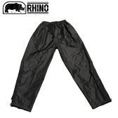 【RHINO 犀牛 雪巴透氣防水雨褲《黑》】PI-835/防水褲/雨褲/登山雨褲/雨衣