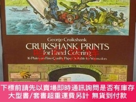 二手書博民逛書店Cruikshank罕見Prints for Hand ColoringY403949 George Crui