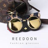 可愛便攜眼鏡包少女ins墨鏡盒太陽眼鏡掛飾眼睛保護袋街拍抗壓潮