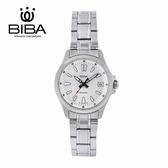 法國 BIBA 碧寶錶 經典系列 藍寶石玻璃 石英錶 B321S101W 白色 - 35mm