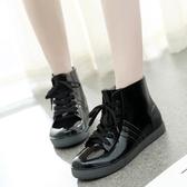 雨鞋 春夏季韓國雨鞋女短筒學生低筒平底雨靴成人防滑防水鞋保暖雨膠鞋【快速出貨】
