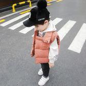 兒童棉馬甲2018秋新款女寶寶保暖背心秋冬韓版男童時尚羽絨棉馬甲