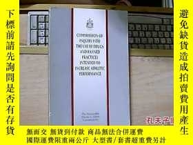 二手書博民逛書店COMMISSION罕見OF INQUIRY INTO THE