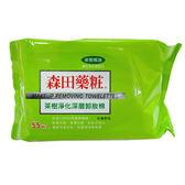 【買一送一】森田藥粧 茶樹卸粧棉 55片◆四季百貨◆