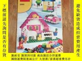 二手書博民逛書店LEGO罕見樂高 創意拼砌系列 5560 說明書Y12800 L