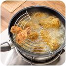 [超豐國際]半圓形不銹鋼瀝油架蒸鍋蒸架廚房蒸菜煎炸滴油架子蒸盤蒸格