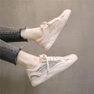 夏季老爹鞋女2021新款網鞋ins透氣網面運動百搭小白板鞋夏款潮鞋 米娜小鋪