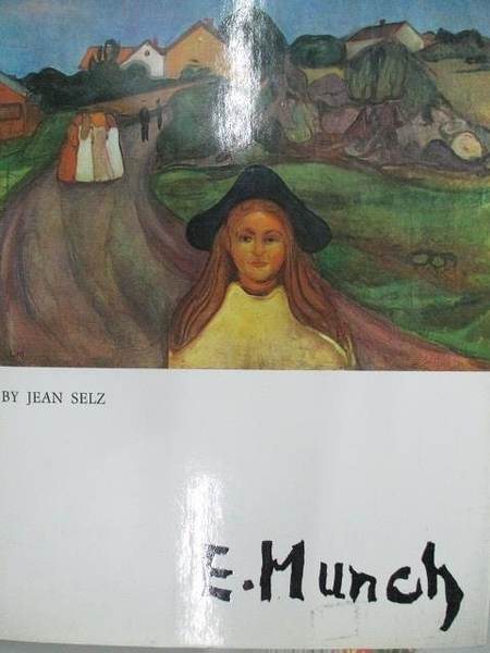 【書寶二手書T5/藝術_DBU】E.Munch_Jean Selz