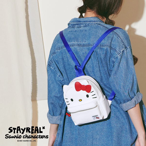 STAYREAL x Sanrio characters Hello Kitty迷你後背包
