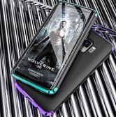 三星 s9 手機殼 SamSung S9 手機套保護殼 三星  S9 Plus 手機殼 金屬邊框 全包防摔磨砂 s9 + 女男潮