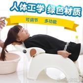 加厚兒童洗頭躺椅洗頭發神器 防水寶寶洗頭床小孩 可折 『洛小仙女鞋』YJT