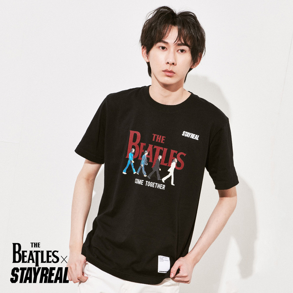 STAYREAL x The Beatles Abbey Road T