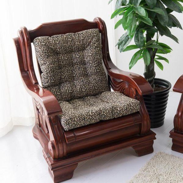 椅墊 加厚單雙人三人沙發坐墊紅木墊長沙發座墊榻榻米 萬客居
