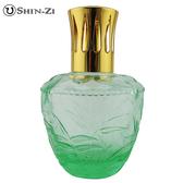(竹葉-淺綠) 大玻璃瓶 香薰瓶 薰香瓶 精油瓶