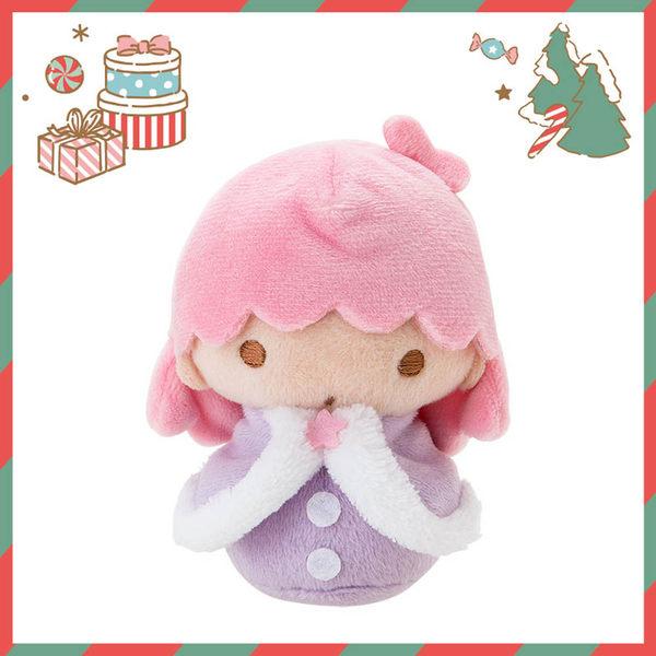 Sanrio  雙星仙子 Q版手心尺寸迷你造型玩偶-KIKI(冬季雪人版)_701033