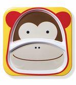 美國 SKIP HOP 動物園系列兒童餐盤-猴子