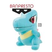 2月預收 玩具e哥 景品 精靈寶可夢 大型圓滾滾絨毛布偶 招式 鬼面 單B款小鉅鱷 代理17076