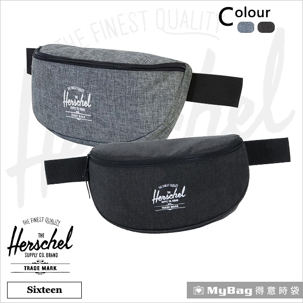 Herschel 腰包 單肩包 側背包 印刷經典LOGO Sixteen 得意時袋