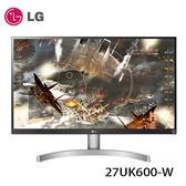 LG 樂金 27UK600-W 27型 AH-IPS 4K電競顯示器