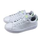 adidas ADVANTAGE 網球鞋 運動鞋 白/綠金後跟 女鞋 FY8956 no900