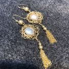 Beatrice Bijoux 舞者巴洛克珍珠耳環
