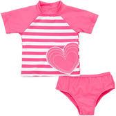 2件組泳衣泳褲泳裝: 糖果粉: LM-2390