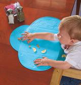 美國 Summer Infant - 可攜式防水學習餐墊 粉藍