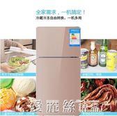 小冰箱雙門節能家用冷藏冷凍宿舍小型兩門電冰箱靜音中型 愛麗絲精品igo220V