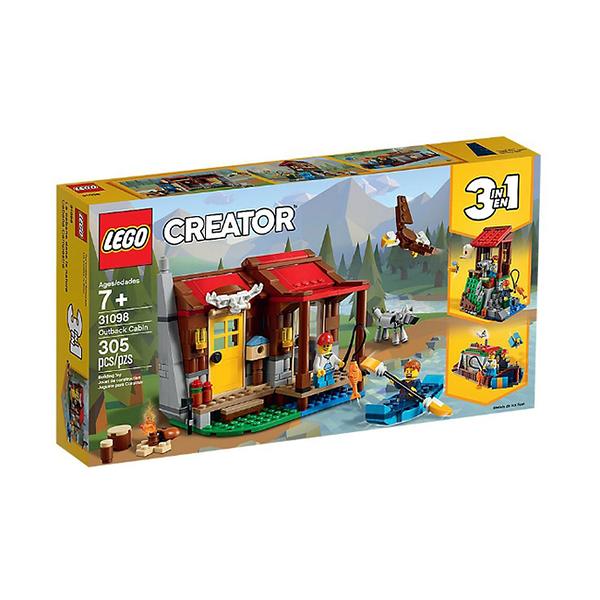 31098【LEGO 樂高積木】創意大師 Creator 系列 - 內陸小屋 Outback Cabin (305pcs)