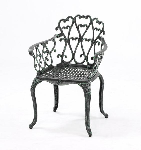 【南洋風休閒傢俱】戶外休閒桌椅系列-#018C 菊花扶手椅 戶外鋁合金休閒餐椅 #018C
