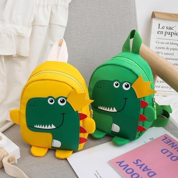 兒童包包2020新款恐龍男童雙肩包卡通可愛女孩背包寶寶幼兒園書包【全館免運】