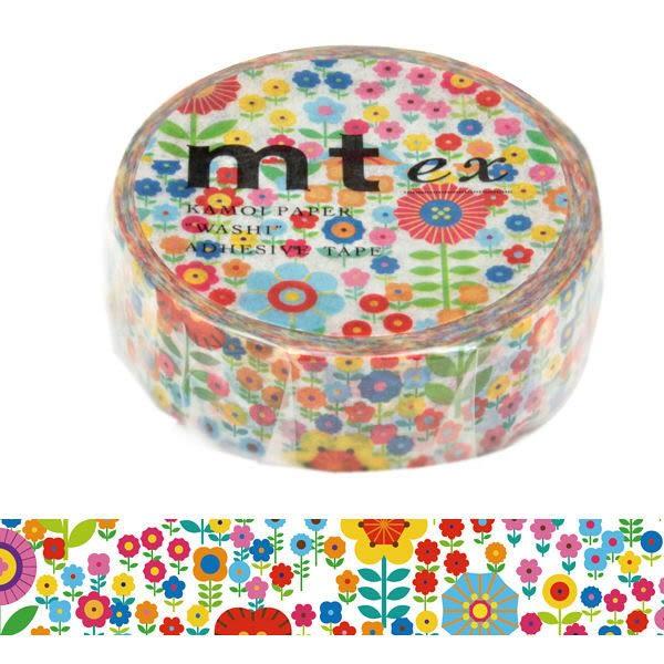 日本mt ex Masking Tape 和紙膠帶 花圃 15mm