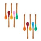 環保餐具 Avanchy 有機竹製餐具湯匙5件組 (新生兒款) - 2色 ISP5