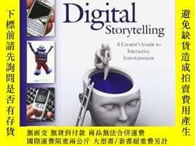 二手書博民逛書店Digital罕見Storytelling, Second Edition-數字講故事,第二版Y436638