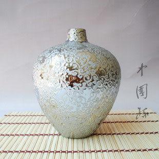 電鍍陶瓷 景德鎮藝術花瓶