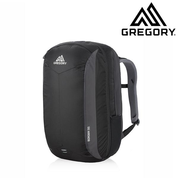 美國 GREGORY BORDER 35L 休閒旅行 | 電腦通勤背包 像素灰 #4090A