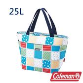Coleman 保冷手提袋25L 薄荷藍 CM-27223 露營│登山│行動冰箱│保冰袋│野餐│便當袋