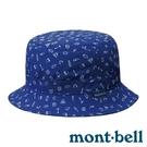 【mont-bell】WICKRON LIGHT PRINT 抗UV快乾透氣遮陽帽『鈷藍』1118190 遮陽帽.防風帽.排汗