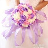 新娘仿真玫瑰手捧花 結婚花球婚紗照拍攝道具 婚禮花束 婚慶用品『小淇嚴選』