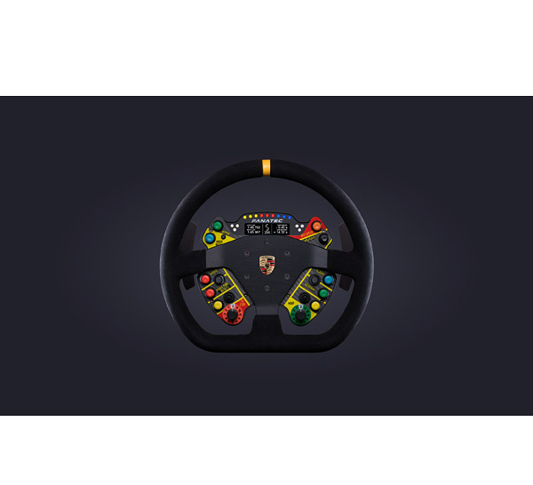 [2美國直購] fanatec 方向盤 ClubSport Steering Wheel Porsche 911 GT3 R V2 for Xbox (Suede)